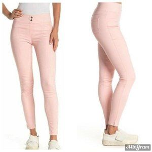 HUE Leggings Size XS Pink Classic Smooth Denim